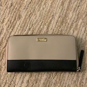 Kate spade large wallet, multi color